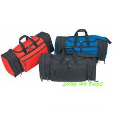 Expandable Ripstop Travel Duffel Bag W/ End Zipper Pockets Sh-6275