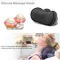 Massager do corpo do descanso do coxim da massagem do silicone do aquecimento do agregado familiar