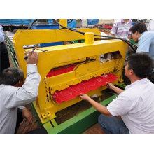 Formmaschine für glasierte Fliesen