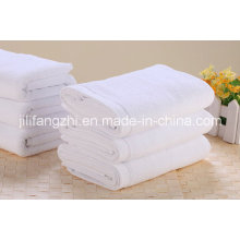 Vente chaude couleur blanc 100 % coton serviette de Hotel