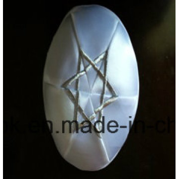 Presente de casamento Natal Judaico Chapéu Satin David Star Judaísmo Kippah