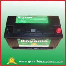 Batterie d'automobile sud-africaine, batterie de démarrage automatique 12V90ah