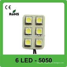 5050 SMD led room bulbs for car