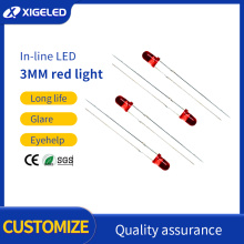 LED lamp beads 3mm-red-red high power lamp beads