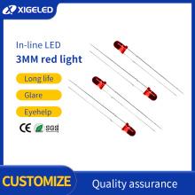 LED-Lampenperlen 3mm-rot-rote Hochleistungslampenperlen