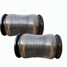 Durable flexible marine discharge rubber hose with steel flange