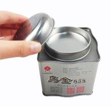 Wholesale Irregular Shaped Metal Tea Tin Packaging Box