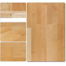 Costo del piso de la cancha de básquetbol de madera de arce en interiores