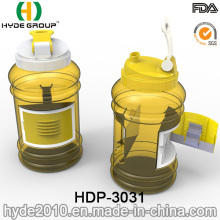 2.2L Hot Sale Plastic Joyshaker Water Jug, BPA Free PETG Plastic Water Bottle with Container (HDP-3031)