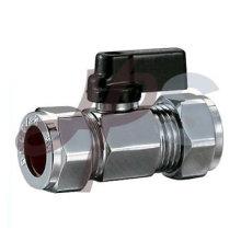 straight way brass mini ball valve
