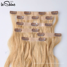 Wholesale Double Drawn Remy Human Hair Clips Extension