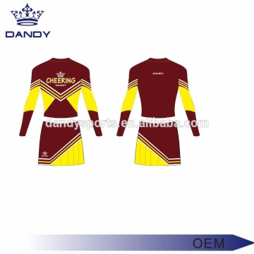 Classic Sublimated Little Girl Cheerleading Outfits