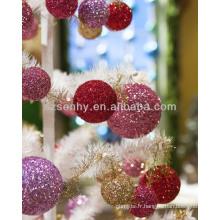 Boules de Noël, Glitter Styrofoam Christmas Balls