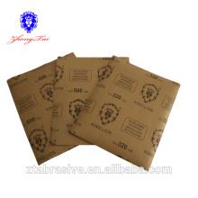 Wasserfestes Sandpapier mit hoher Qualität
