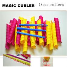 18PC / 55cm grande rolo mágico do cabelo de Leverag (HEAD-61)