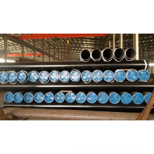 Professional black paint a106 seamless pipes