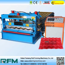 Glazed tile forming machine, glazed tiles roof cold roll forming machine