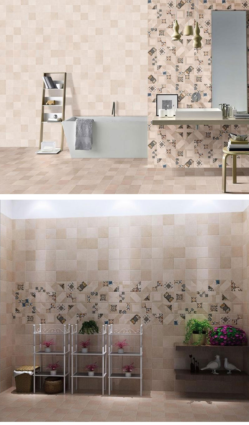 Glazed Tiles in Bathroom