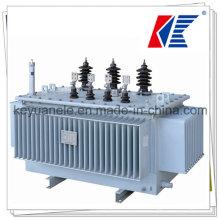 Fuente de fábrica 50kVA, 11kv Distribución Transformador
