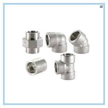 Custom All Kinds Pipe Fitting por materiais de aço inoxidável