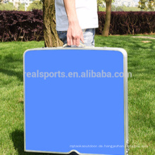 Faltender Aluminiumtisch-Förderungs-Klapptisch mit Stuhl-justierbarer Tabelle