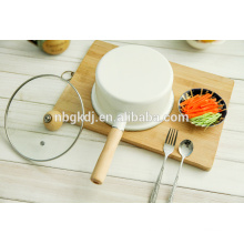 easy-clean carbon steel sauce pan enamel saucepan pots