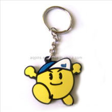 Hot Selling Soft PVC Key Chain with Cartoon Logo (KC-07)