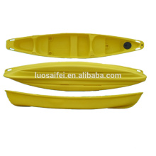 2018 China OEM wholesale hot sale clear fishing canoe kayak or boat for sale with paddle