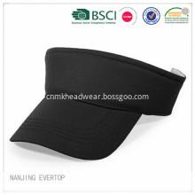 BSCI Cheap Black Light Cotton Twill Visor