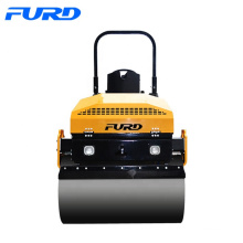 3 Ton Small Vibratory Smooth Drum Roller With Free Spare Parts