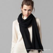 2017 nouveau style fil teint écharpe en cachemire italienne