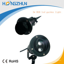 Lumière de jardin led 24V, lampe à rayons LED lampe extérieure RA75 rgb china manufatuer