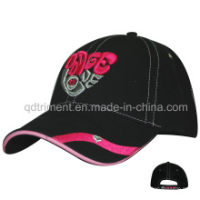 3D Puff Bordados sanduíche Sport Golf Baseball Cap (TMBC6356)
