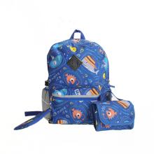 Wholesale Customized Cartoon Oem Front And Back Has Reflective Stripe School Bag Large Capacity Custom Backpack