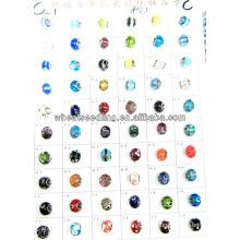 Venda Por Atacado contas de vidro de Murano com 925 prata esterlina núcleo LS-137