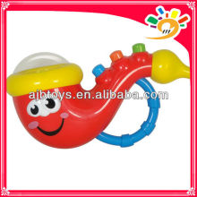 Battery musical saxophone toy electronic musical instrument for baby