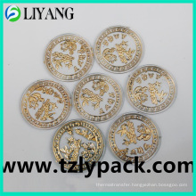 Hot Stamping Foil for Plastic Round, Gold Foil