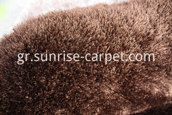 Soft Elastic & Silk Mix Shaggy Rug