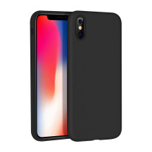 Caixa colorida de silicone para telefone iphone x cover