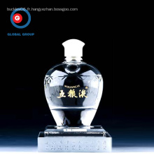 Wuliangye bouteille de verre givré