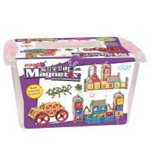 Горячие продажи интеллектуальных магнитных строительных игрушек с магнитом палочки и мячи