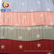 Algodão Volie tecido impresso para vestuário têxtil (GLLML091)