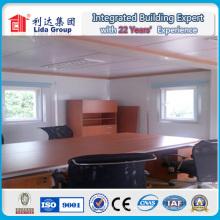 Maison préfabriquée de récipient pour le magasin de l'usine de la Chine