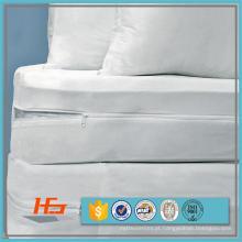 Cobertura do chapéu de coco da cama do Encasement do colchão da prova do erro da cama por atacado