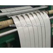 Bobina de acero línea de corte de la producción