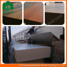 3/4/5/6/9/12/15/16/18mm Melamine Faced MDF Particle Board, Laminated Board