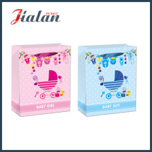 128GSM Glossy Lamated Revestido Papel Baby Boy & Gril Gift Bag