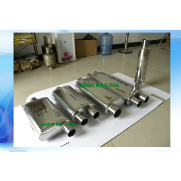 409 Stainless Steel Mirror Polished Car Truck Exhaust Pipe Muffler