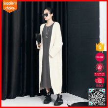 Long sleeves knitted cashmere thick sweater women cashmere shawl