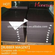 Flexible Rubber Magnet Sheet Black/Brown